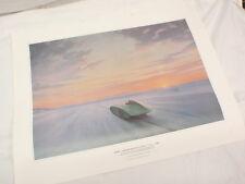 Dawn Bonneville Salt Flats 1956 Austin-Healey 100-6 Donald Healey Ltd Ed Print