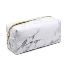 2018 New High quality marble makeup bag large capacity cosmetics collection bag