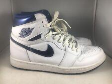 Nike Air Jordan 1 Retro High OG Metallic Blue Size 10 555088 106