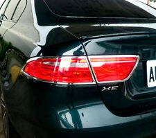 FAST EMS Pair ROYAL Chrome Rear Tail Light Trims for Jaguar XE X760 15-ON