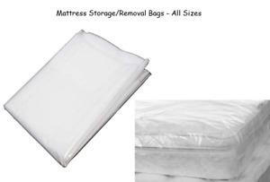 Heavy Duty Mattress Cover Bags Single Double King Super King Polythene Moving