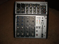 Phonic Mixer MM1002a 10 Channel/12 Input Microphone/Line Level Mixer