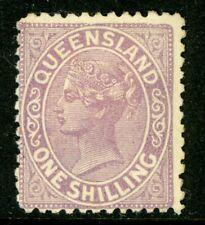 Australia 1883 Queensland 1' Violet Wmk 68 Perf 12 Scott #95 Mint G272