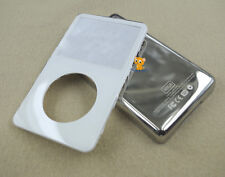White Front Faceplate Metal Back Housing Case Cover for iPod 5th gen Video 60GB