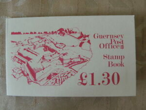 1982 Bailiwick Guernsey Postage stamps £1.30 booklets unused. 5p 8p 13p stamps.