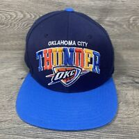 Mitchell and Ness Oklahoma City Thunder OKC OSFA Snapback Hat/Cap NBA