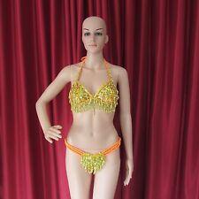 Da NeeNa R25 Sun of King Showgirl Pageant Latin Salsa Dance Bra Skirt Thong S