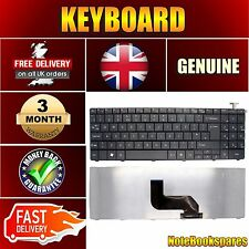FOR NEW TJ68-AU-031UK PACKARD BELL EASYNOTE LAPTOP KEYBOARD BLACK MATTE