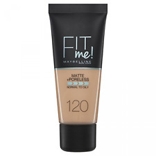 Maybelline fit me mate y Poreless Foundation 120 Clásico Marfil