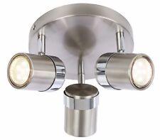 🆕 💡Satin adjustable 3 Way Round Plate Interior Ceiling Spotlight
