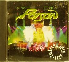 POISON 'SWALLOW THIS LIVE' 17-TRACK CD