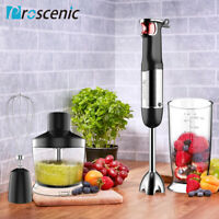 Proscenic 800W Hand Blender immersion stick Mixer Stainless Steel Processor set