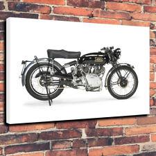 "Vincent Rapide series B Vintage Printed Box Canvas Picture A1.30""x20""- 30mm Deep"