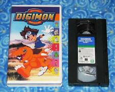 Digimon Digital Monsters Adventure Volume One VHS Video Tape Excellent Tested