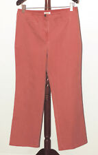 Talbots size 16 Dusty Rose Pink Stretch Straight Leg Pants