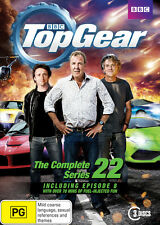Top Gear Season Series 22 DVD R4 Jeremy Clarkson, Richard Hammond, James May