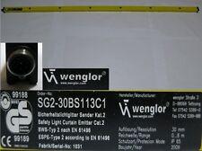 Wenglor SG2-30BS 113C1 Lichtvorhang Sicherheitslichtgitter Sender 26-1 #2533
