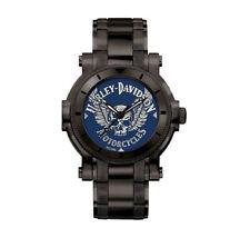 Men's Harley Davidson by Bulova Winged Skull Watch #78A117