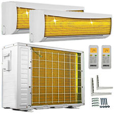 9000+12000 Split Klimaanlage ECO Duo Inverter Dual Multi Klimagerät Multisplit