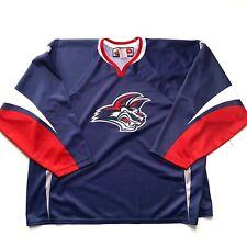 Elmira Jackals Jersey Size 3XL Blue ECHL Hockey