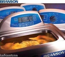 "NEW ! Branson CPX2800 Ultrasonic Bath, 0.75 Gal, 9.5"" x 5.5"" x 4"", CPX-952-219R"