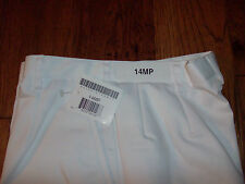 U.S MILITARY WOMEN'S AIR FORCE WHITE DRESS SLACKS/PANTS SIZE 14MP U.S.A MADE