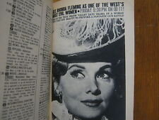1964 TV  Guide(RHONDA  FLEMING/RUDY VALLEE/JULIA CHILD/PHYLLIS NEWMAN/JUDY CARNE