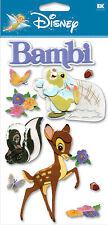 DISNEY Bambi & Bunny 3D Stickers by EK Success New