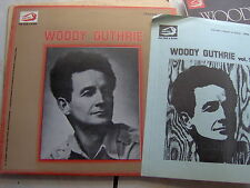 LP WOODY GUTHRIE VOL.2 ALBATROS MINT + BOOKLET ENGLISH & ITALIAN TEXTS