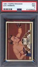 1951 Topps Ringside Boxing #50 Lou Ambers PSA 7 *697631