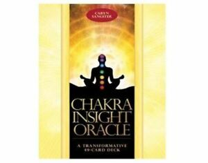 CHAKRA INSIGHT ORACLE DECK BY CARYN SANGSTER AND AMY EDWARDS
