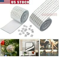 Silver Mosaic Glass Tiles 1464PCS DIY Art Mirror Glass Tile Square Self-adhesive
