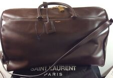 SAINT LAURENT CALFSKIN OVERNIGHT/ WEEKEND TRAVEL BAG-- New with Tags