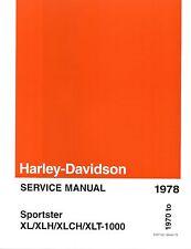 Harley-Davidson Werkstatthandbuch Sportster 1970-1978 XL XLH XLCH Buch 99484-78