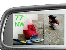 "OEM 2012-2013 Toyota Tacoma Compass Temp Mirror w/3.3"" Backup Camera Display"
