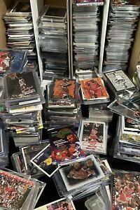 Basketball Cards Storage Warehouse Estate Find 100 Card Lots Jordan Rookie Stars