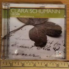 CLARA SCHUMANN: LIEDER NEW Arte Nova Classics CD Lan Rao Micaela Gelius NIB