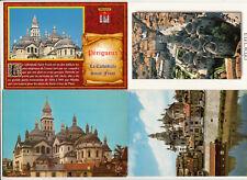 Lot 4 cartes postales DORDOGNE PERIGUEUX
