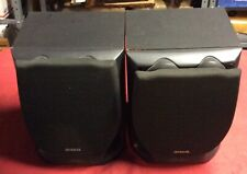 Aiwa SX-NV3000 Twin Duct 3 Way Bass Refrex Speaker System Black Color