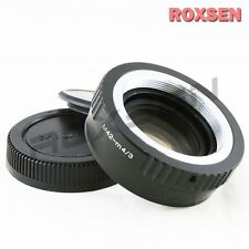 Focal Reducer Speed Booster Adapter M42 mount lens to Micro 4/3 M4/3 GX7 E-PL6