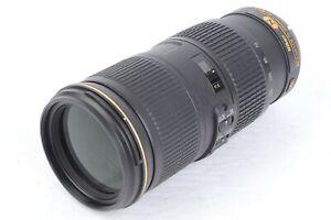 Nikon AF-S NIKKOR 70-200mm f/4G ED VR Telephoto Zoom Lens w/ HB-60 Hood  #P6879