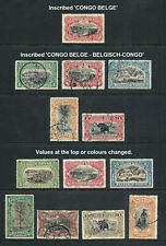 BELGIAN CONGO _ 1909+ 'PICTORIAL' 13 _ mh-used ____(637)