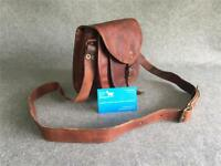 "Handmade Goat Leather 9"" Handbag HPR-M Medium Shoulder Bag Billy Goat Designs"