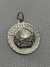 STERLING SILVER CREA San Francisco Golden Gate Bridge Charm PENDANT