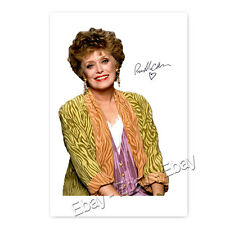 Rue McClanahan (1934–2010†)   Blanche Devereaux aus Golden Girls Autogramm [1] 
