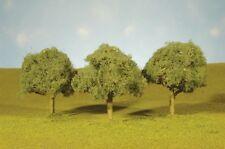 "Bachmann 32013 x Scenescape 3""-3-1/2"" Oak Trees (3/pk) qq"