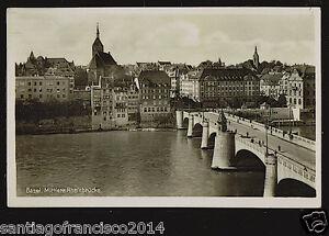 SWITZERLAND 42-BASEL -Mittlere Rheinbrücke