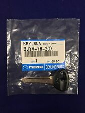 OEM Genuine Mazda Primary Transponder Uncut Key Blank 626 Miata MPV BJYV-76-2GX