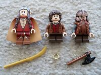 LEGO Lord Of The Rings - Original - Elrond Gimli & Frodo Baggins - Excellent