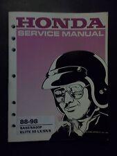 SA50 1988 - 1998 Honda SA50 Elite Original Service Shop Manual